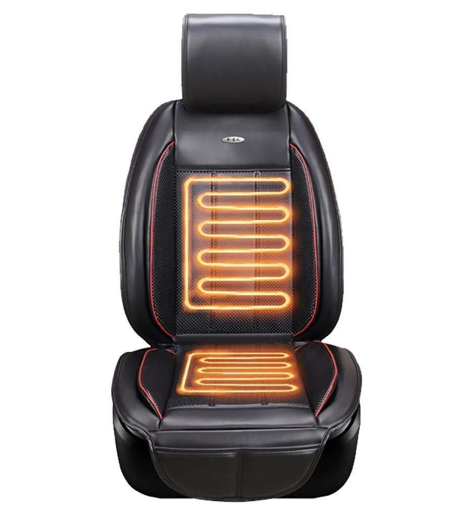 YAOHAOHAO The cooling of heating adjustable massage 12V car seat cushion