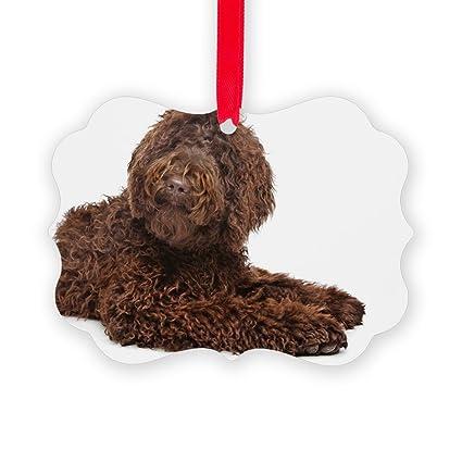 CafePress - Brown Labradoodle - Christmas Ornament, Decorative Tree Ornament - Amazon.com: CafePress - Brown Labradoodle - Christmas Ornament