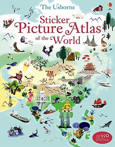 Download Sticker Picture Atlas of the World (Sticker Books) pdf