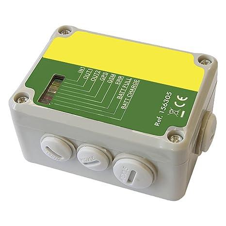 Cerca eléctrica alarma GSM - 156305: Amazon.es: Jardín