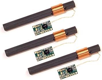 CANADUINO WWVB 60 kHz NIST - Receptor de Reloj atómico – Antena Extra Larga de 100 mm – 1,5 a 5 V Voltaje de Funcionamiento Mejor Calidad