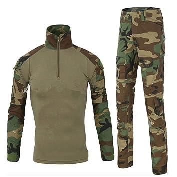 Traje táctico, Uniforme militar, Camuflaje para hombres, Caza, Camiseta de manga larga
