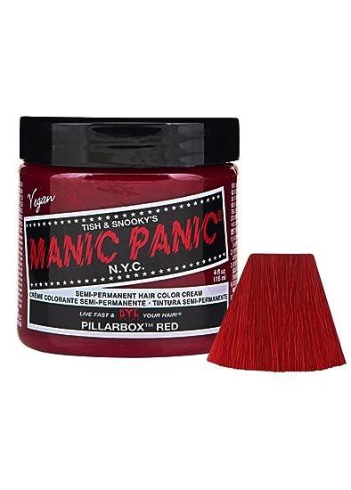 Genoeg Amazon.com : Manic Panic - Pillar Box Red Cream Hair Color - 4 oz @IG51