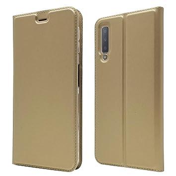 Andre Estuches para Celular Samsung Galaxy A7 2018, PU Cuero ...