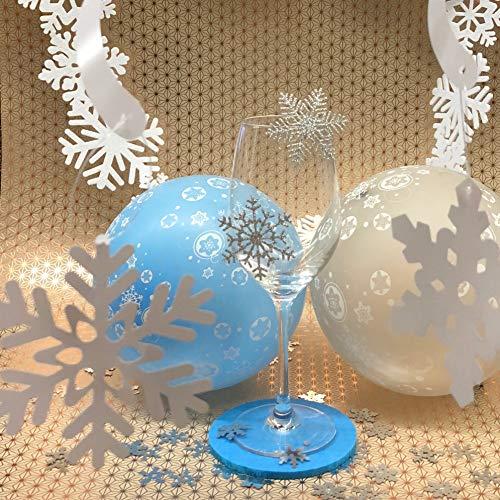 Basteln Malen Oblique Unique Schneeflocken Schnee Sticker