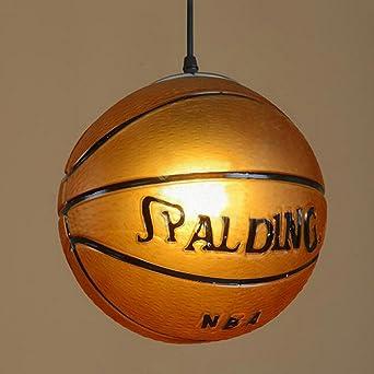 Nclon Moderna Creativo Lámpara de techo,E27 Enchufe Baloncesto ...