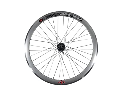 Deep V 43 mm rueda trasera para bicicleta, Fixed Gear, vía, una ...