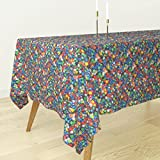 Roostery Tablecloth - Polyhedron Photographic Game Polyhedral Gaming Dungeons and Dragons Dice by Weavingmajor - Cotton Sateen Tablecloth 70 x 90