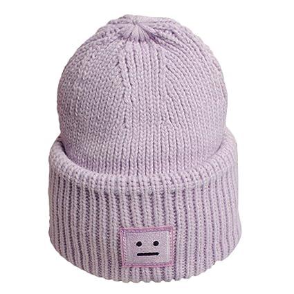 352889b27b9 Amazon.com  Fheaven Unisex Beanie Hat Winter Warm Hats Knit Slouchy ...