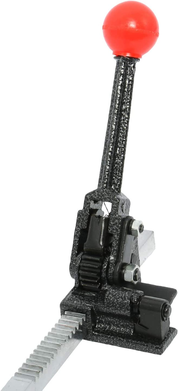 Ratchet Action Manual Strap Sealer Tensioner for Bundling 12-16mm PP Strap 120 pcs Steel Seals 2pc Poly Strapping Banding Tools