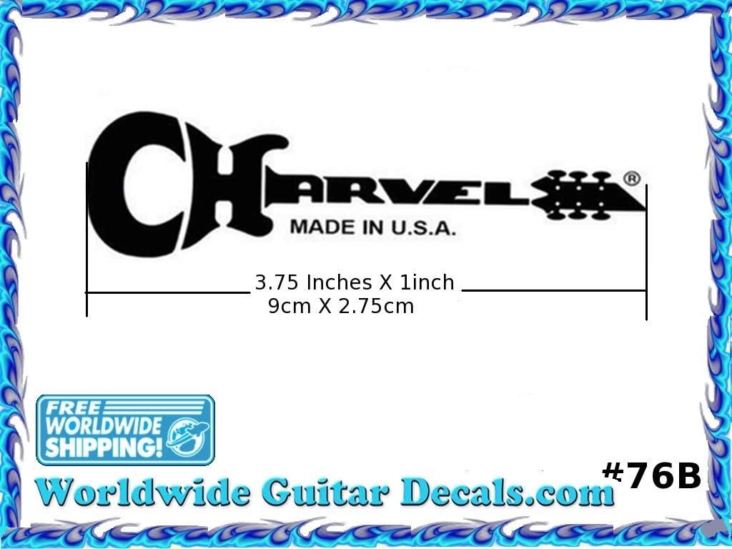 Charvel EVH Guitar Decal Headstock Waterslide Restoration logo 76b