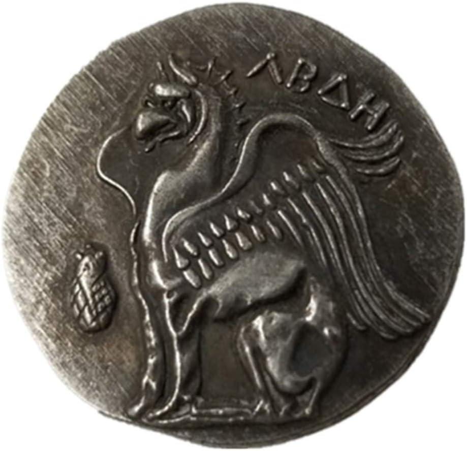 Rare Antique antique antique antique Ath/ènes grec argent Drachm Atena Gr/èce drachma drachma argent Couleur pi/èce