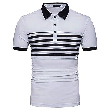 Polo Camisa De Manga Larga con Cuello En para Esencial Hombre V ...