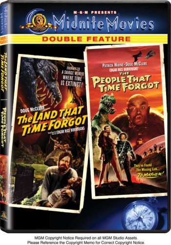 The Land that Time Forgot / The People that Time Forgot (Midnite Movies Double Feature) from MGM DOUBLE FEATURE
