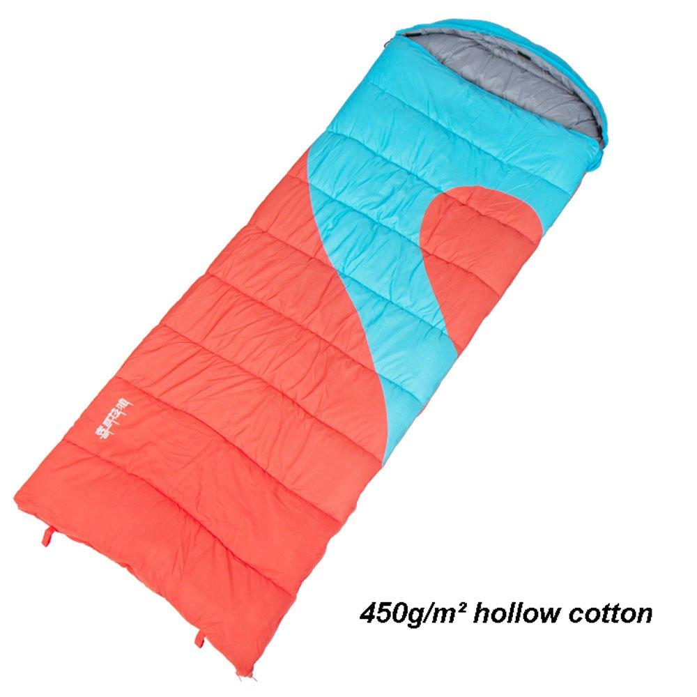MUTANG カップルダブル寝袋大人の屋内冬厚い暖かいキャンプ旅行フォーシーズンズホテル寝袋様々な厚さオプション B07DQN6YSB   450g