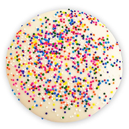 (Decorated Sugar Coookies - Celebration Sprinkle Cookie - by Merlino Baking Co. (12 Pack))