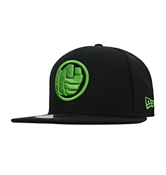 New Era Hulk Fist Symbol 9fifty Adjustable Hat At Amazon Mens