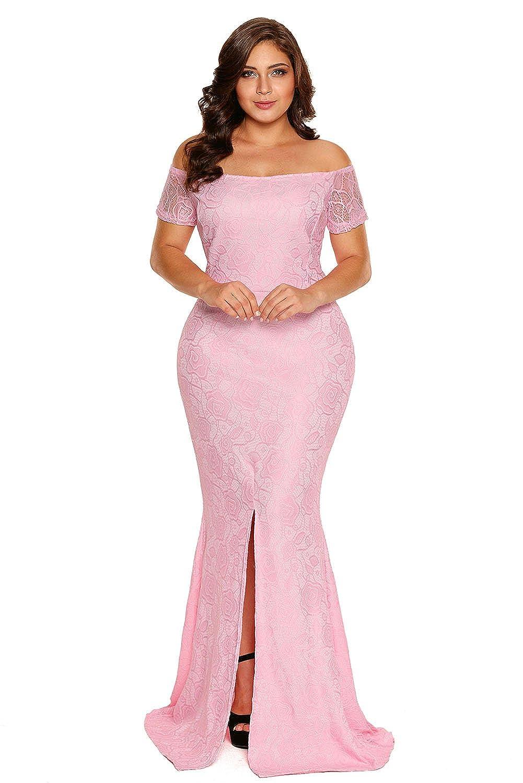 ILFtrend Spitze Kleid Große Größen Kleid Partykleider Abendmode ...