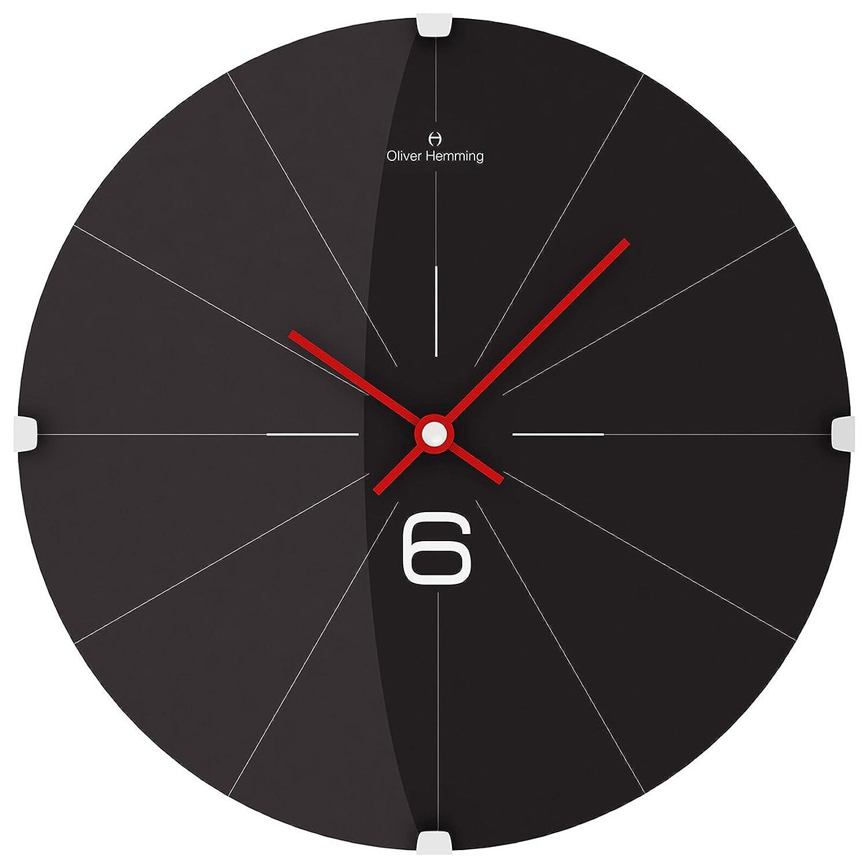 オリバーヘミング 壁掛け時計 イギリスブランド 300mm W300DG26B [並行輸入品] B01MV1HWZB