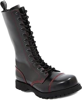 Boots   Braces 8-Loch Schnürstiefel Easy Bat mit Fledermaus  Amazon ... 4858d0644a