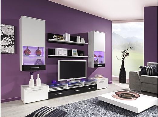BMF Cama II - Panel de Pared para televisor con Efecto Espejo ...
