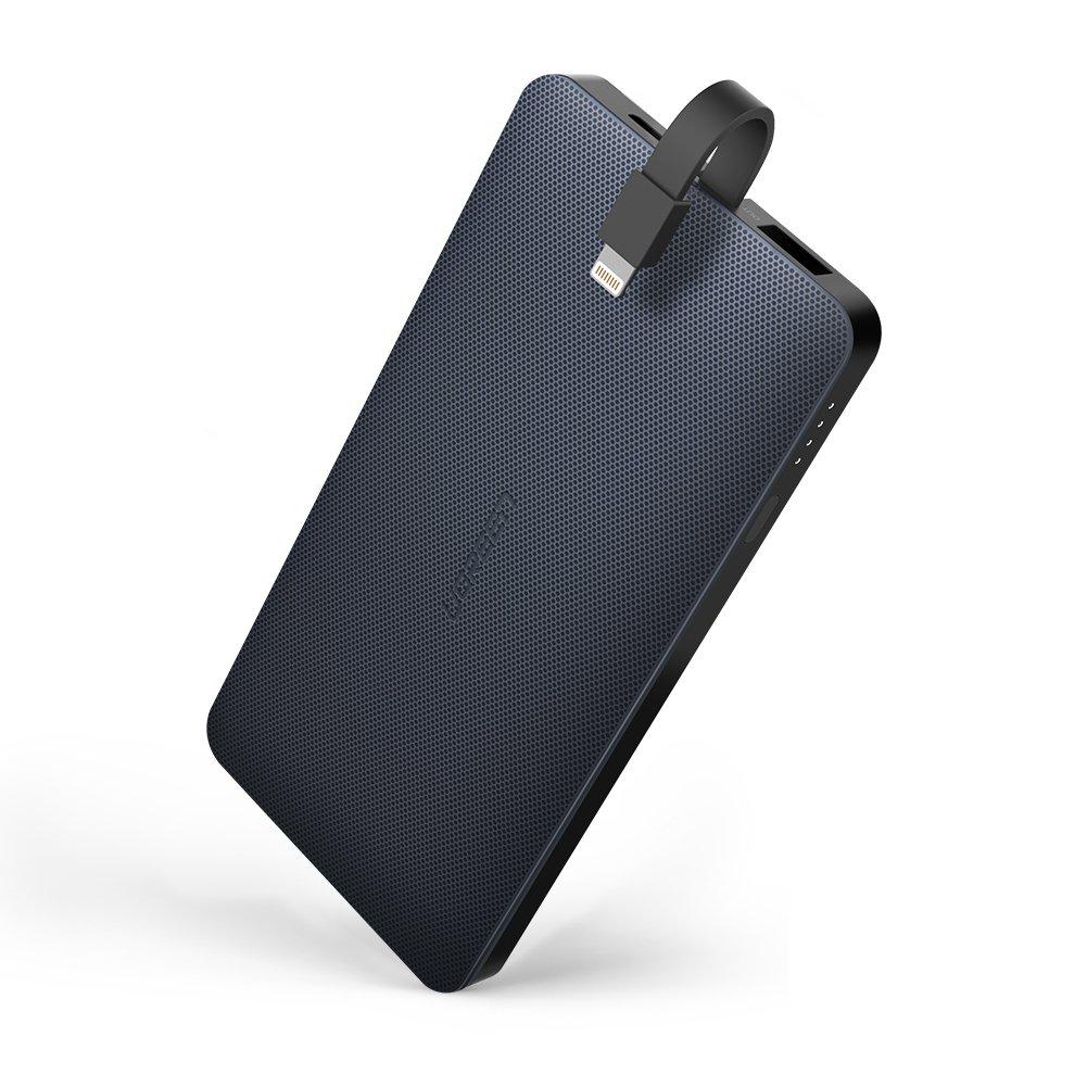 Batería externa 10.000mAh, MFI Certificado con Lightning