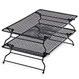 Pampered Chef Stackable Bakers Rack Set of 2