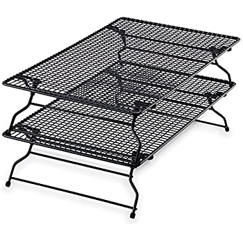 Amazon Com Pampered Chef Stackable Bakers Rack Set Of 2