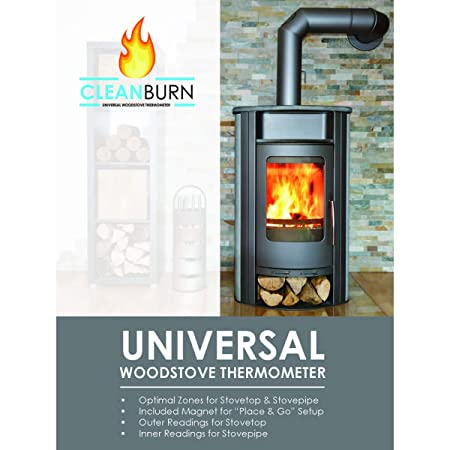 Amazon com: US Fireplace Products CleanBurn Universal Woodstove