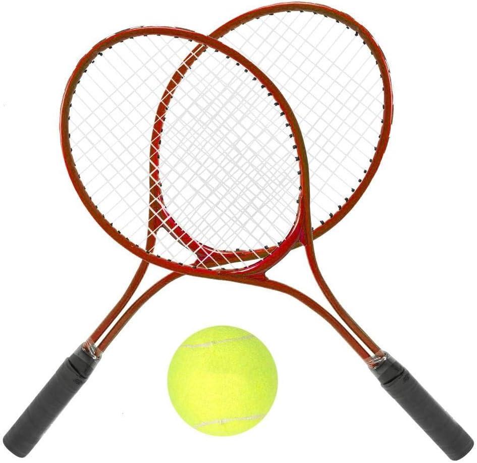 Alomejor Children Tennis Racket Junior Tennis Racket with Racket Bag and Ball for Children Tennis Training