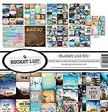 Reminisce (REMBC) BUC-200 Bucket List Scrapbook Collection Kit, Multi Color Palette
