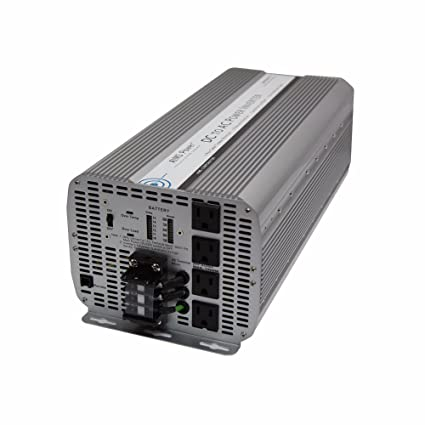 aims power 8000 watt dc to ac power inverter, 8000w max continuous power,  16000w