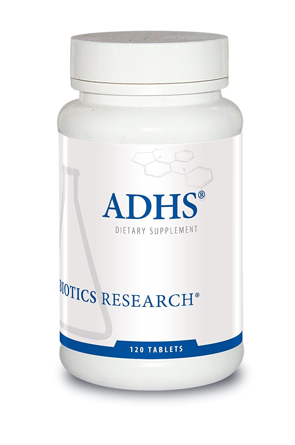 Biotics Research ADHS Adrenal Support, Supports Normal Cortisol Levels, Antioxidant Support, More Energy, Healthy Response, 120 Tabs