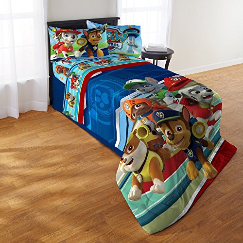Price comparison product image Paw Patrol Boy Puppy Hero 4 Piece Comforter Set by Nickelodeon