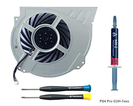 ElecGear Replacement Internal Cooling Fan for PS4 Pro CUH-7 – CPU on