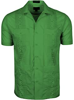 40dbdd2df7 Amazon.com  Gentlemens Collection Guayabera Shirt for Boys - Linen ...