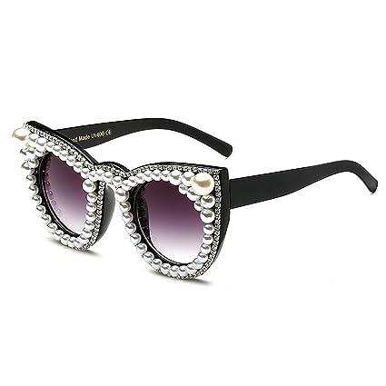 Lindos Ojos de Gato de Cristal Gafas de Sol para Mujeres ...
