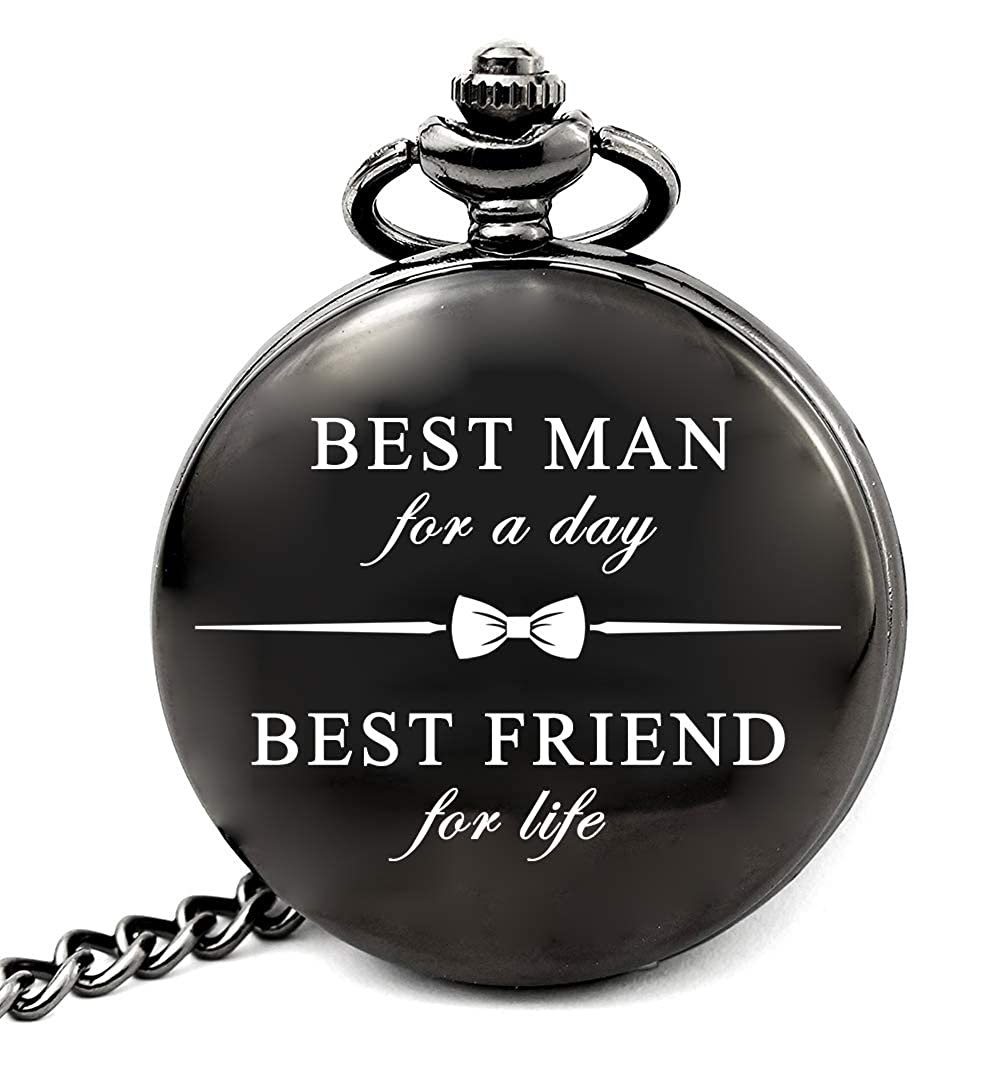 Best Man Gifts for Wedding Watch – Best Man for A Day, Best Friend for Life  (Best Man)