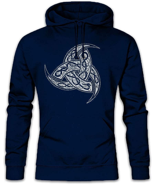 - Odhins Horns Ornaments Hoodie Hooded Sweatshirt Sweater