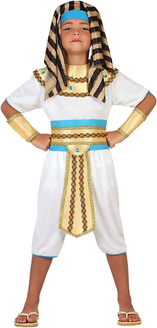 Atosa-23307 Disfraz Egipcio, color dorado, 10 a 12 años (23307 ...