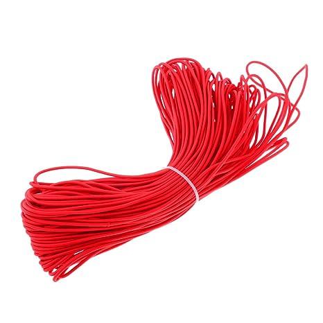 6 mm Gummiseil Bungie Elastisch Seil Gummiseil Flexibel Abriebfest UV