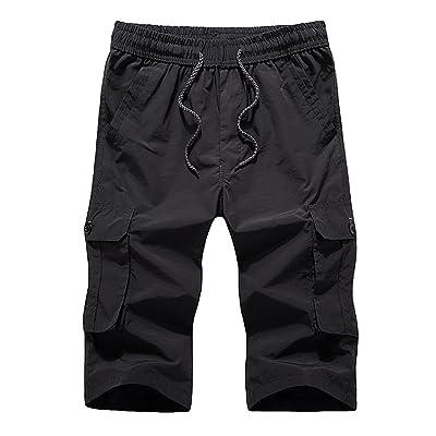 GITVIENAR Short pour Sport Fitness Bodybuilding & Loisirs | Pantalon de Jogging–– Pantalon de sport–Jogger–Pantalon de sport pour pour été/plage/d'