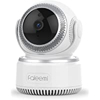 Faleemi 1080P Pan/Tilt Wireless WiFi IP Camera, Home Security Surveillance Video Camera Two Way Audio, Night Vision Baby/Elder/Pet/Nanny/Office Monitor FSC882