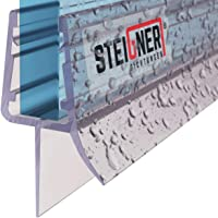 STEIGNER douchestrip, 100cm, glasdikte 3,5/4/ 5 mm, recht, pvc, vervangende afdichting voor douches, UK13