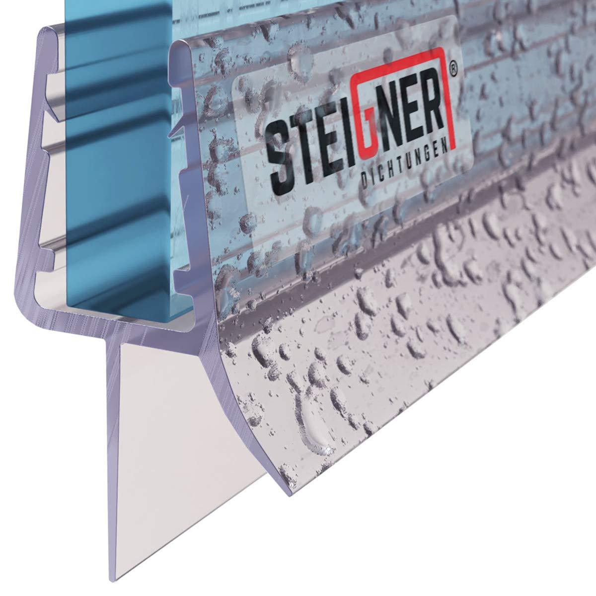 80cm UK13 - Junta de recambio para ducha deflector de 3,5mm/ 4mm/ 5mm vidrio grueso agua sello ducha de protección de sobretensión recta product image