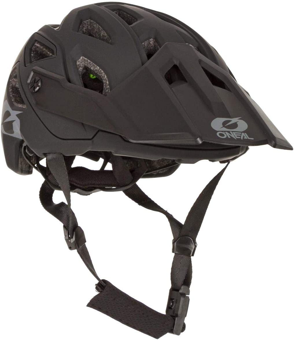 58-61 cm Casque Moto MX-Motocross Oneal Pike 2.0 IPX Casque Solid Black//Gray L//XL Adultes Unisexe