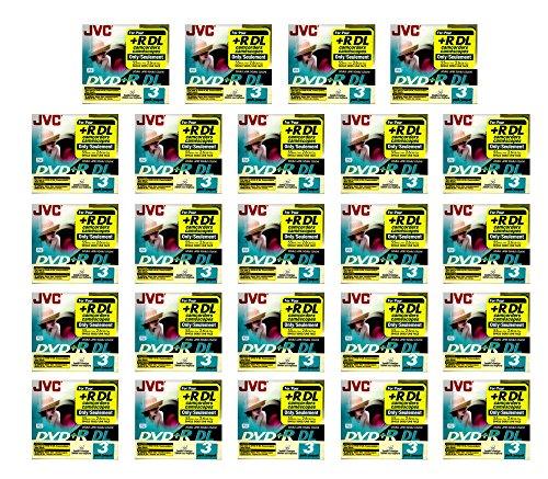 72x JVC DVD+R DL Blank Recordable Camcorder Mini CD Disc 55min 2.6GB (3pk x 24) by 21Supply