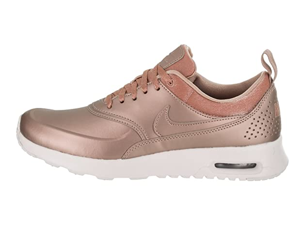 Nike Air Max Thea Premium Womens Shoes Metallic RedBronze