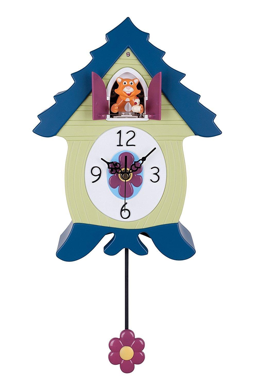 「ヘッドアップ」 HeadsUp 猫の鳩時計 [並行輸入品] B004AVV5NG
