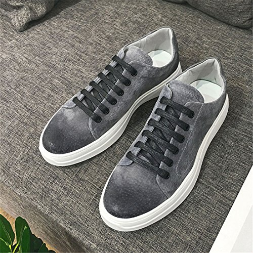 Mens Outdoor Sport Running Walking Shoes Lightweight Casual Sneakers Y8100 Grey 4JO3BJgv